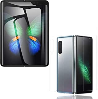 [3 Pack] JAMIE Screen Protector Compatible with Galaxy Fold / W20, HD Clear Anti-Scratch Nano Screen Protector Film Compat...