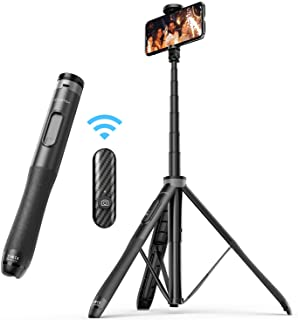 ATUMTEK 1.3m Selfie Stick Tripod, All in One Extendable Phone Tripod Stand with Bluetooth Remote 360° Rotation for iPhone ...