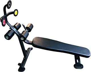Target Abs - Abdominal Training Bench, Touch Target Technology, Fixed Angle Decline Bench, Core Training Equipment