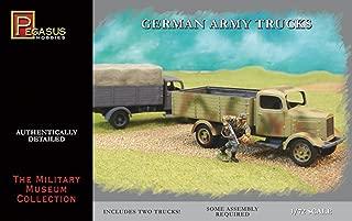 German Army Trucks (2) (Snap Kit) 1-72 Pegasus