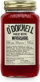 """O""""Donnell Moonshine """"Wilde Beere"""" Likör 700 ml I Made in Germany I Natürliche Zutaten I Premium Schnaps nach Amerikanischer Tradition I 25% Vol. Alkohol"""