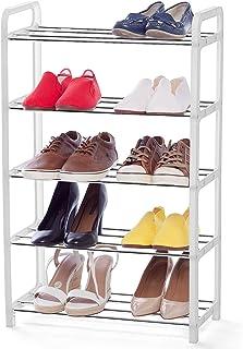 art moon Whistler Meuble à Chaussures 5 étagères, Armoire à Chaussures Etroite, Gain de Place pour 10 Paires de Chaussures...