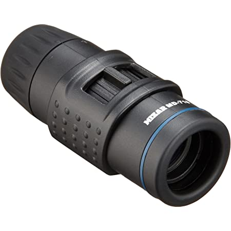 MIZAR-TEC 単眼鏡 7倍18口径 小型タイプ ケース付き ブラック MD-718