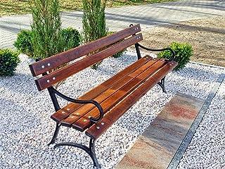 Krakwood Gartenbank, Terrassenmöbel, für Außenbereiche, V