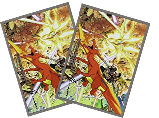 Charizard VS Ultra Necrozma - Official Card Sleeves - Tournament Legal - Pack of 64 Count - Japan Import