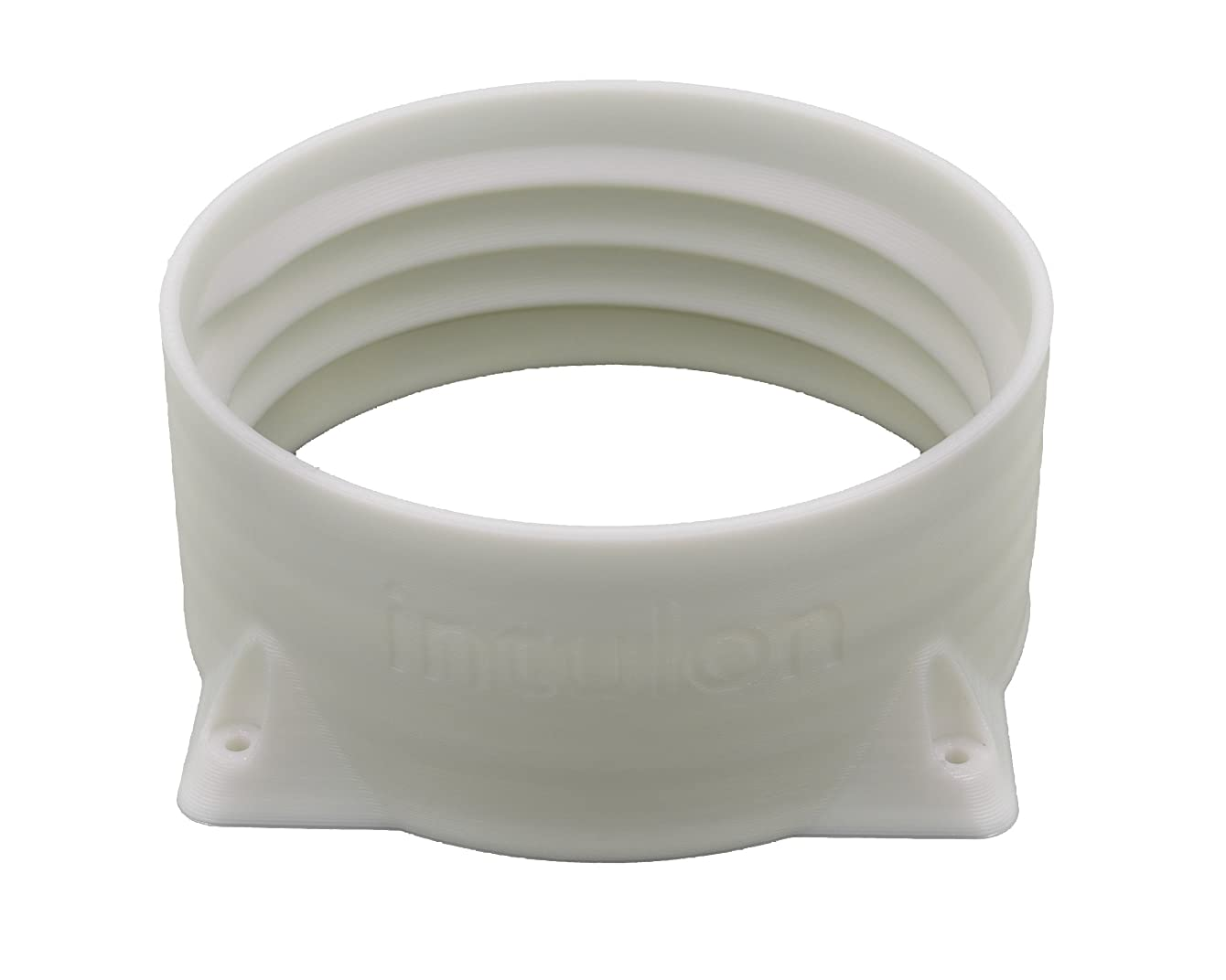 intulon 5-inch Tube Portable AC Air Conditioner Exhaust Hose Flange Wall Mount - Clockwise Thread 5CWMOUNT