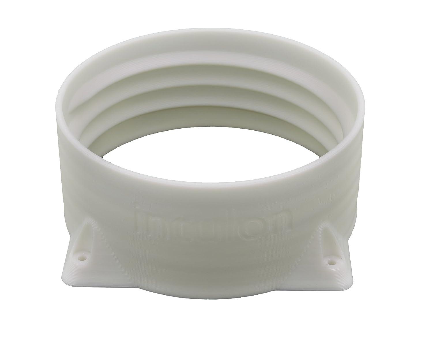 intulon 5-inch Tube Portable AC Air Conditioner Exhaust Hose Flange Wall Mount - Clockwise Thread 5CWMOUNT iuunibgizpqdz1