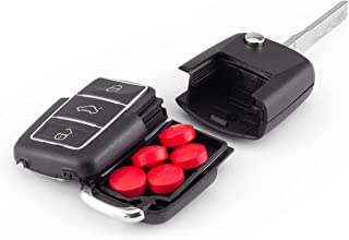 Diversion Safe Stash Smellproof Hidden Secret Compartment Water Resistant Key Chain, Car Key Fob