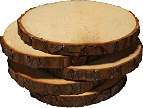 wooden rounds for wedding