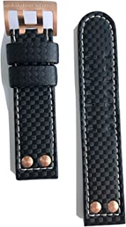 Authentic Hamilton Khaki X-Wind Black Leather 22mm Strap Band for Watch H77696793