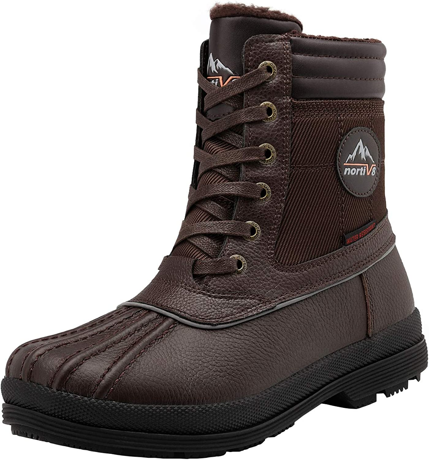 NORTIV 8 Men's Insulated Max 46% OFF Warm Winter Boots Snow Max 58% OFF
