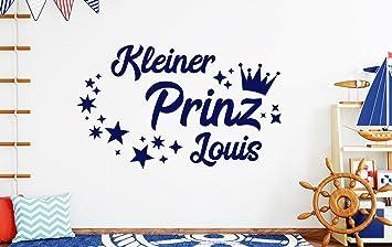 Tjapalo Db Pkm359 Wandtattoo Kinderzimmer Junge Name Wandtattoo Jungenzimmer Wandtattoo Kleiner Prinz Mit Namen B100 X H58 Cm Amazon De Baumarkt