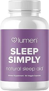 Sleep Simply - Natural Sleep Aid Formula with Valerian Root, Tryptophan, Melatonin, & Chamomile - Revitalizing Deep Sleep ...
