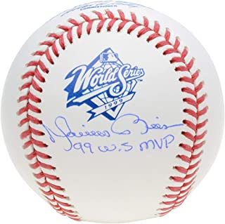 Mariano Rivera New York Yankees Autographed 1999 World Series Logo Baseball with