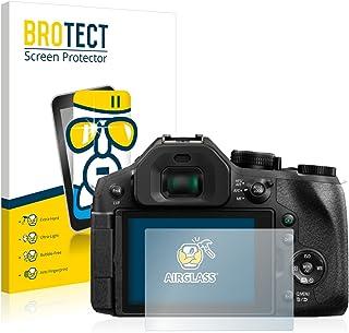 BROTECT Protector Pantalla Cristal Compatible con Panasonic Lumix DMC-FZ300 Protector Pantalla Vidrio Dureza 9H AirGlass