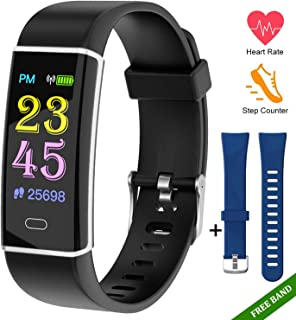 Fitness Tracker Watch-Activity Trackers Health Exercise...