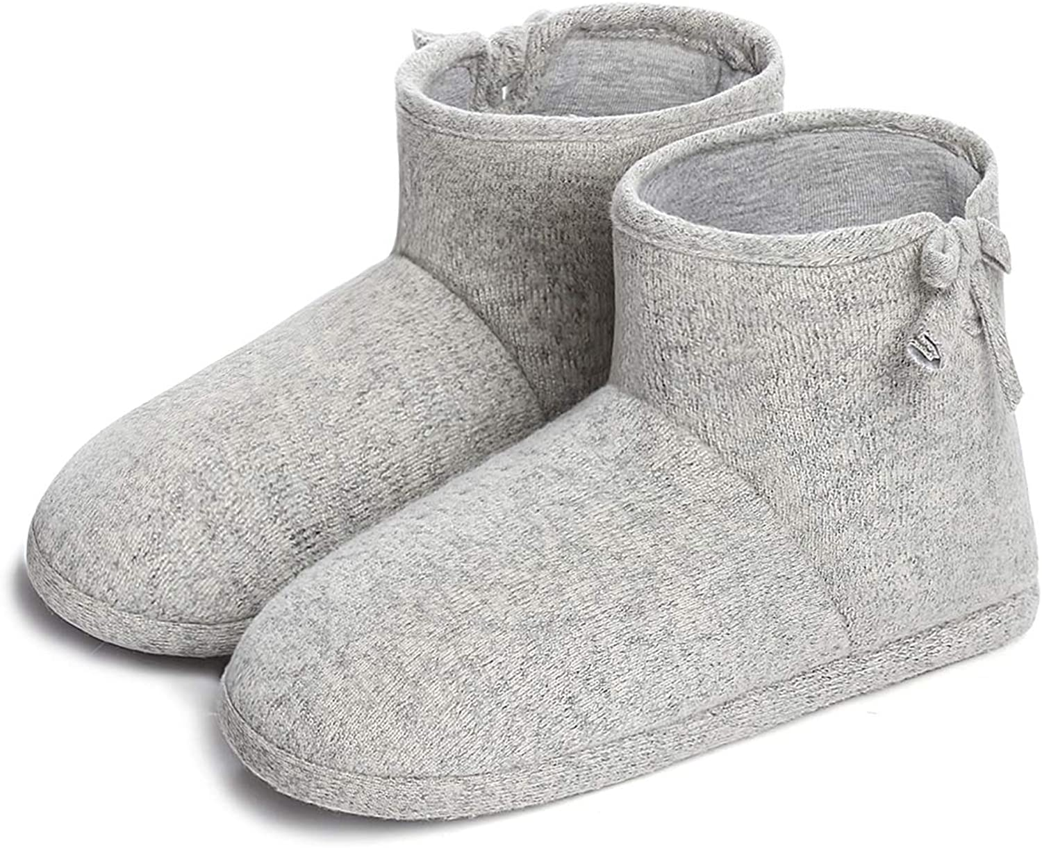 Dailybella Women's Indoor Slippers Boot Winter Soft Cotton Memory Foam House shoes