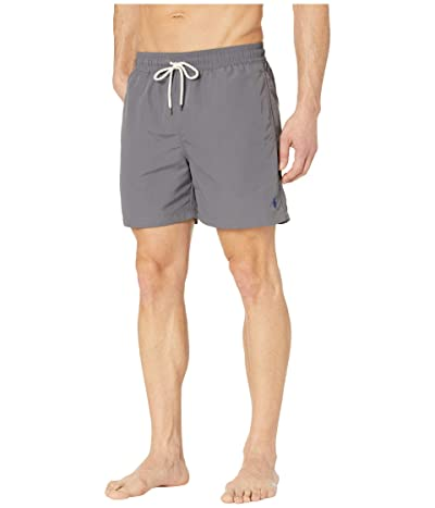 Polo Ralph Lauren Traveler Swim Shorts (Combat Grey) Men