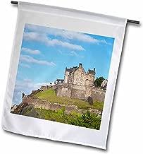 3dRose fl_82801_1 Scotland, Edinburgh, Edinburgh Castle-EU36 CMI0156-Cindy Miller Hopkins Garden Flag, 12 by 18-Inch