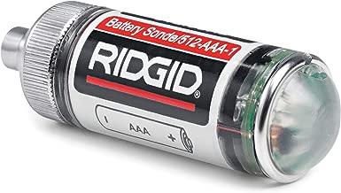 RIDGID 16728 Remote Transmitter (512 Hertz Sonde) for Underground Pipe Location