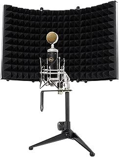 Blue Baby Bottle SL Studio Condenser Recording Microphone Mic+Isolation Shield