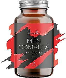 VIBOOST MEN COMPLEX: el Vigorizante masculino que potencia tu resistencia y duración [Maca. Arginina. Ginseng. Tribulus] y da un impulso a tu energía [Zinc]