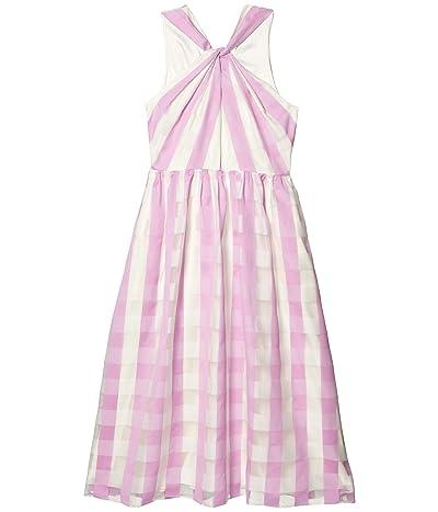 Kate Spade New York Gingham Organza Dress (Fresh Lilac) Women