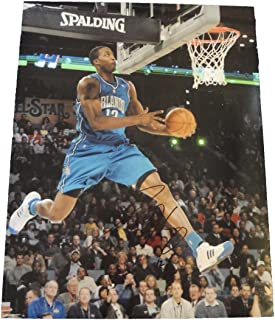 Dwight Howard Autographed Orlando Magic 11x14 Photo W/PROOF, Picture of Dwight Signing For Us, Orlando Magic, Los Angeles Lakers, Houston Rockets, Team USA, Olympics, Gold Medal