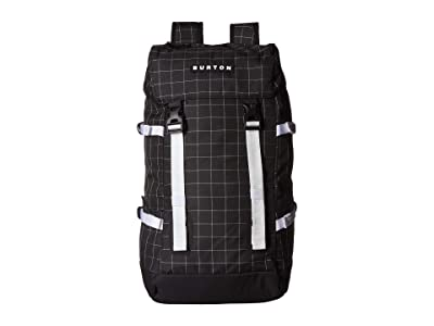 Burton Tinder 2.0 Backpack (True Black Oversized Ripstop) Backpack Bags