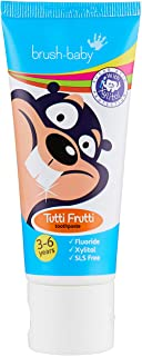 Brush-Baby Children's Toothpaste 3-6 Years x 3 by Brush-Baby