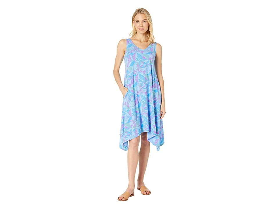 Fresh Produce Beachside Blooms Lydia Dress (Bayside Blue) Women