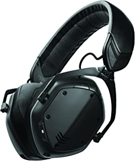 V-MODA XFBT2-MBLACK Crossfade 2 Wireless Over-Ear Headphones, Matte Black