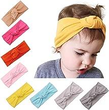 8-10 Packs Baby Girl Cute Headband Head Wrap Hair Band (A-01(8 Pack))