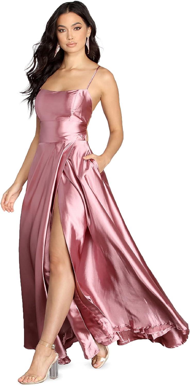 WindsorSatin Formal Dress