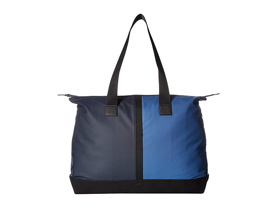 Camper Moon Tote (Blue Multi) Tote Handbags