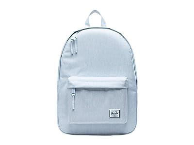 Herschel Supply Co. Classic Mid-Volume (Ballad Blue Pastel Crosshatch) Backpack Bags