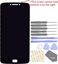 VEKIR Touch Display Digitizer Screen Replacement for Motorola Moto E4 Plus XT1770 XT1773(Black)[Confirm The Version by Checking The Position of The Camera]