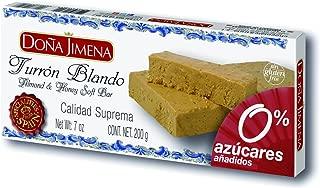 Turrón Blando Almendra Sin Azúcar Doña Jimena 200G