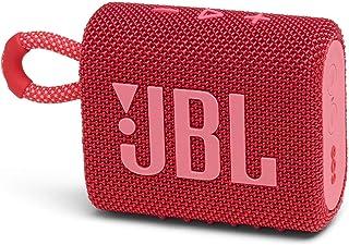 JBL GO 3 Bluetoothスピーカー USB C充電/IP67防塵防水/パッシブラジエーター搭載/ポータブル/2020年モデル レッド JBLGO3RED 【国内正規品/メーカー1年保証付き】