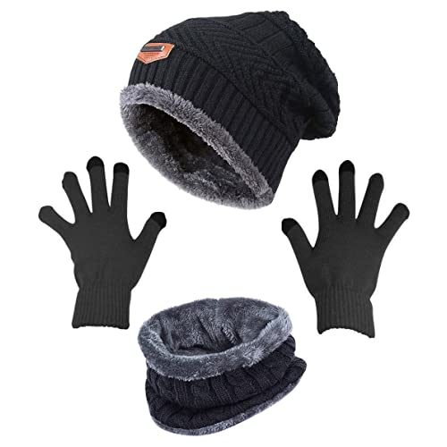 de11eedc Winter Hat and Gloves: Amazon.com
