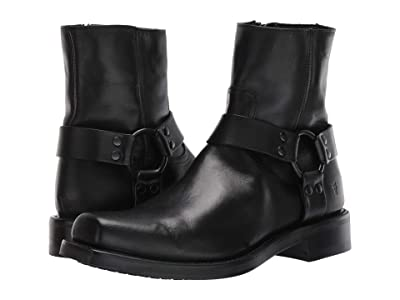 Frye Conway Harness (Black) Men