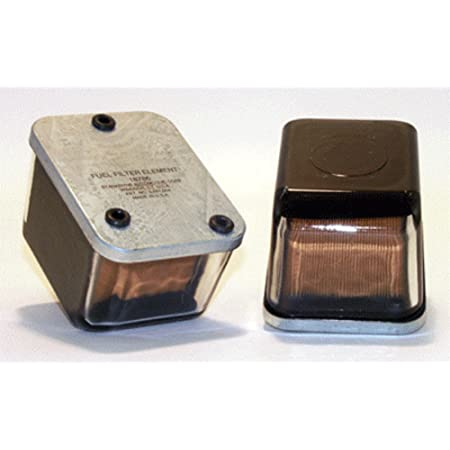 Complete In-Line Wix 33370 Fuel Case of 6 Filter