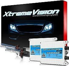 XtremeVision 35W AC Xenon HID Lights with Premium Slim AC Ballast - 9005 10000K - 10K Dark Blue - 2 Year Warranty