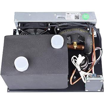 Micro DC acondicionador de aire, DC 12V 450W R134A refrigerante, potente acondicionador de aire para el coche ...