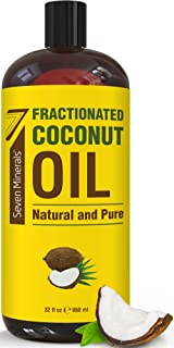 fractionated coconut oil with pump