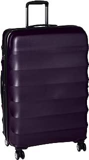 Antler Juno Metallic DLX Hardside Suitcase, 79 Centimeters, Aubergine