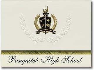 Signature Ankündigungen panguitch High School (panguitch, UT) Graduation Ankündigungen, Presidential Stil, Elite Paket 25 Stück mit Gold & Schwarz Metallic Folie Dichtung B078WFX9QG  Nutzen Sie Materialien voll aus