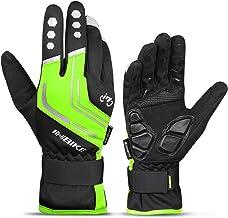 INBIKE Winterhandschuhe Fahrrad Warm und Winddicht Touchscreen Fahrradhandschuhe für Radsport Skifahren Snowboard Downhill und Motorradfahren