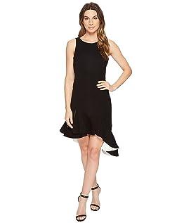 Sleeveless Scoop Neck Dress Flounce Skirt