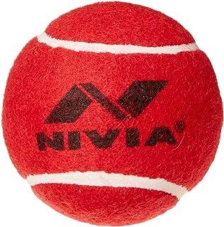 Nivia Heavy Red Cricket Tennis Hard Ball
